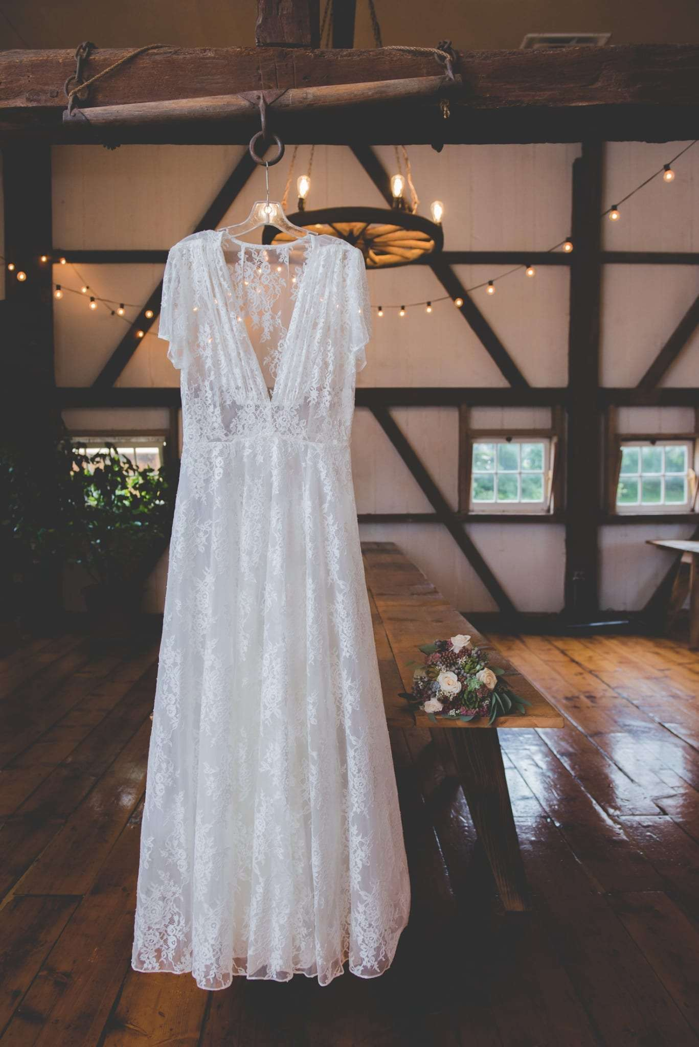 custom shareen bridal lace wedding dress