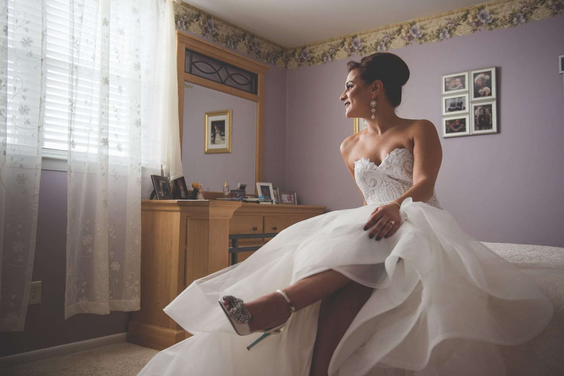 Hayley Paige wedding dress style