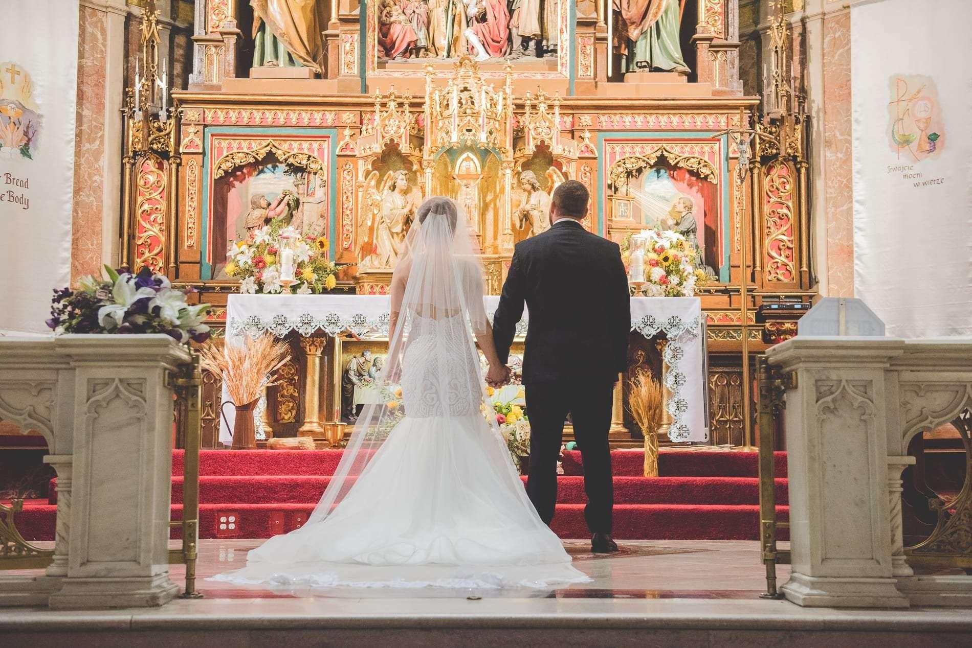 St. Alderberts wedding ceremony