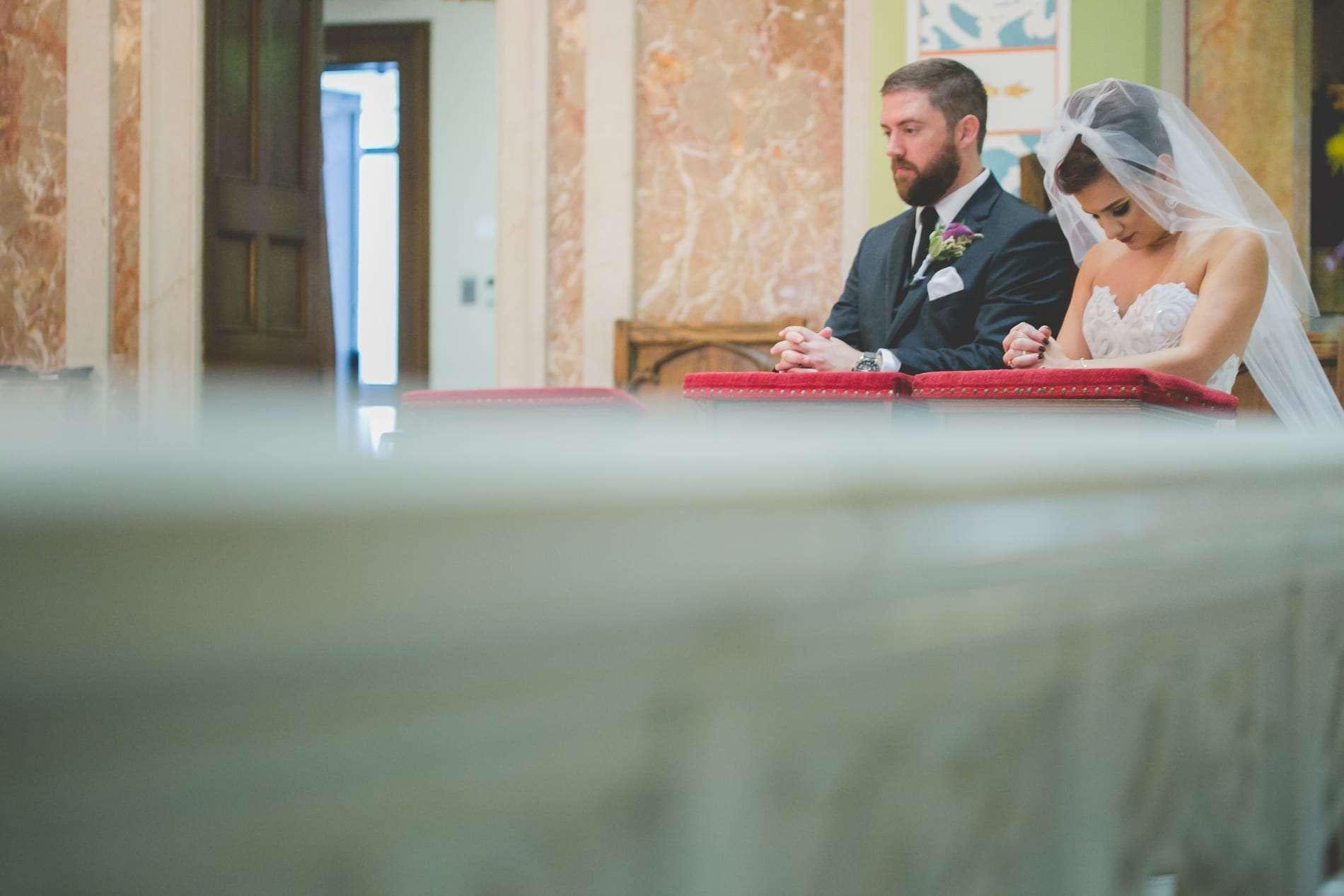 Philadelphia wedding photographer church wedding
