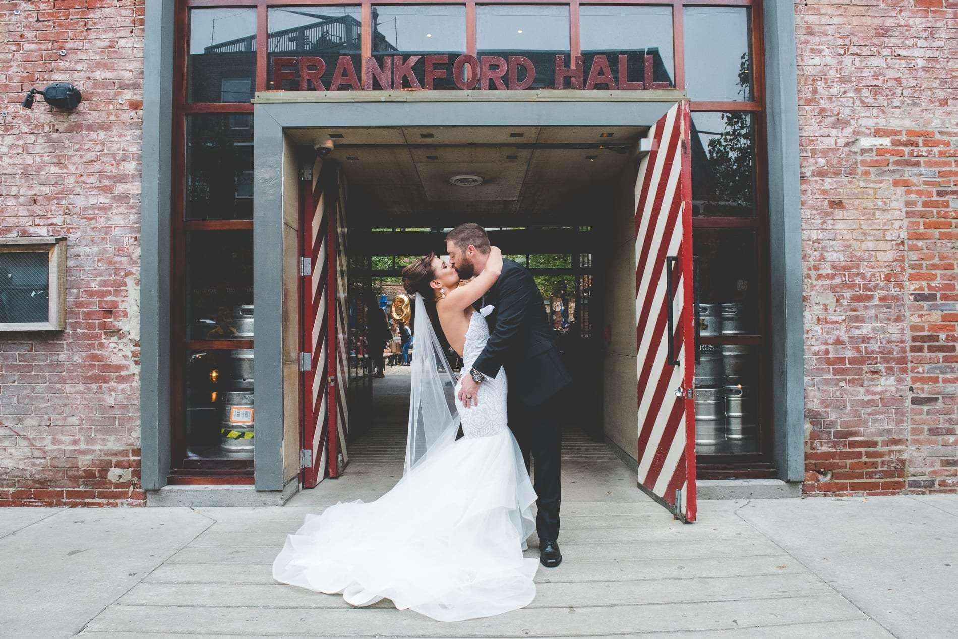 Frankford hall wedding photos philadelphia