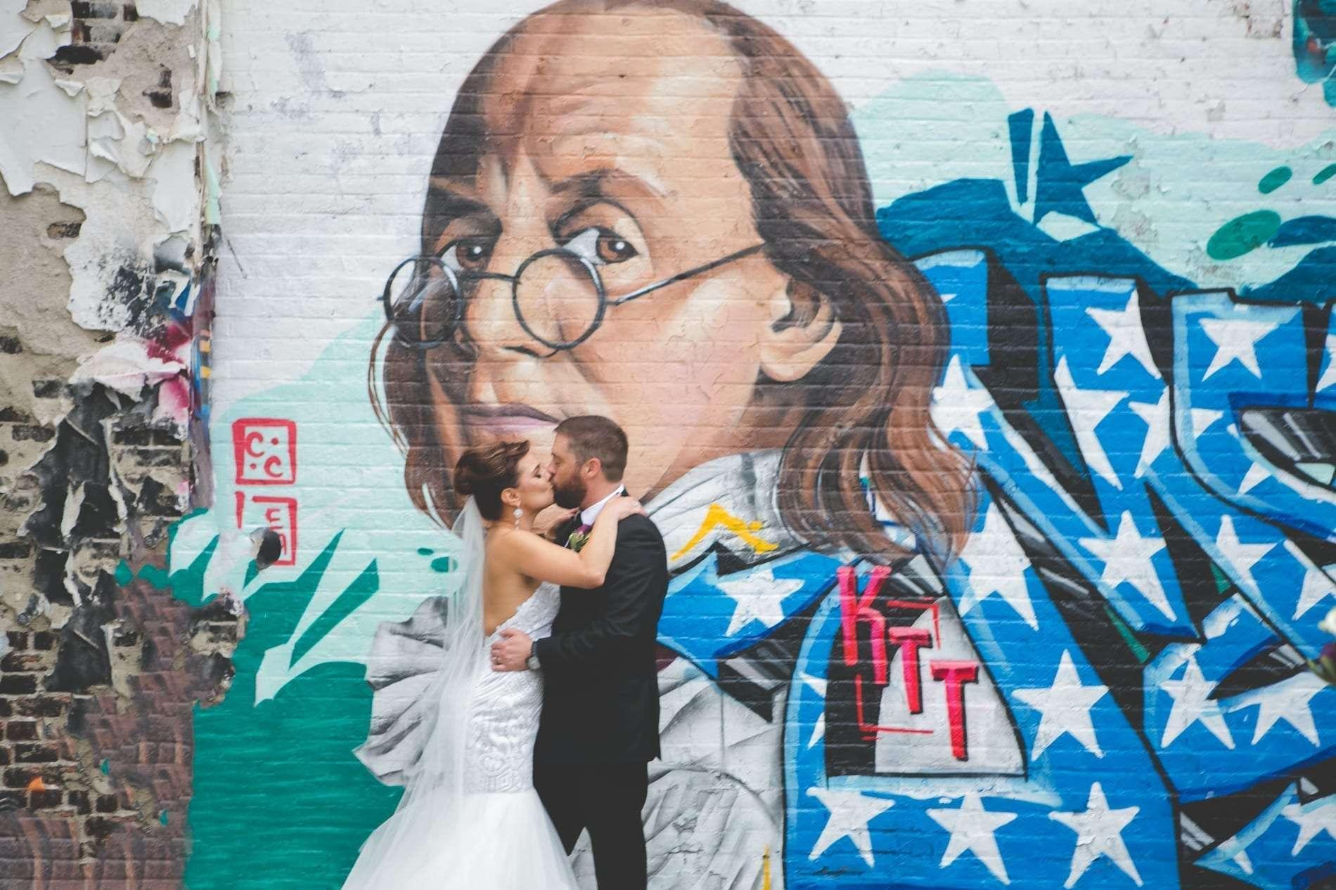 philadelphia murals wedding photography
