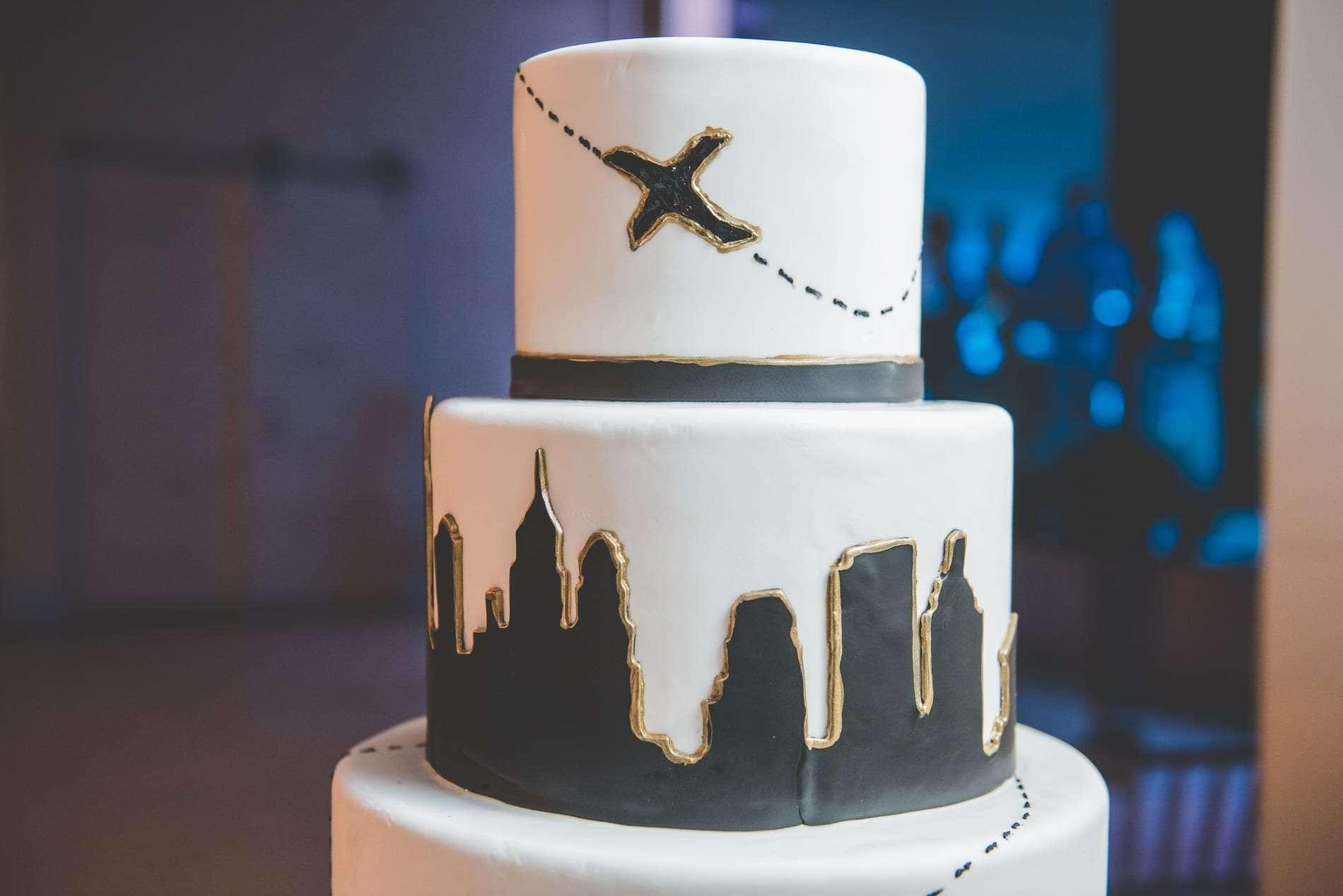 Cescaphe philadelphia wedding cake