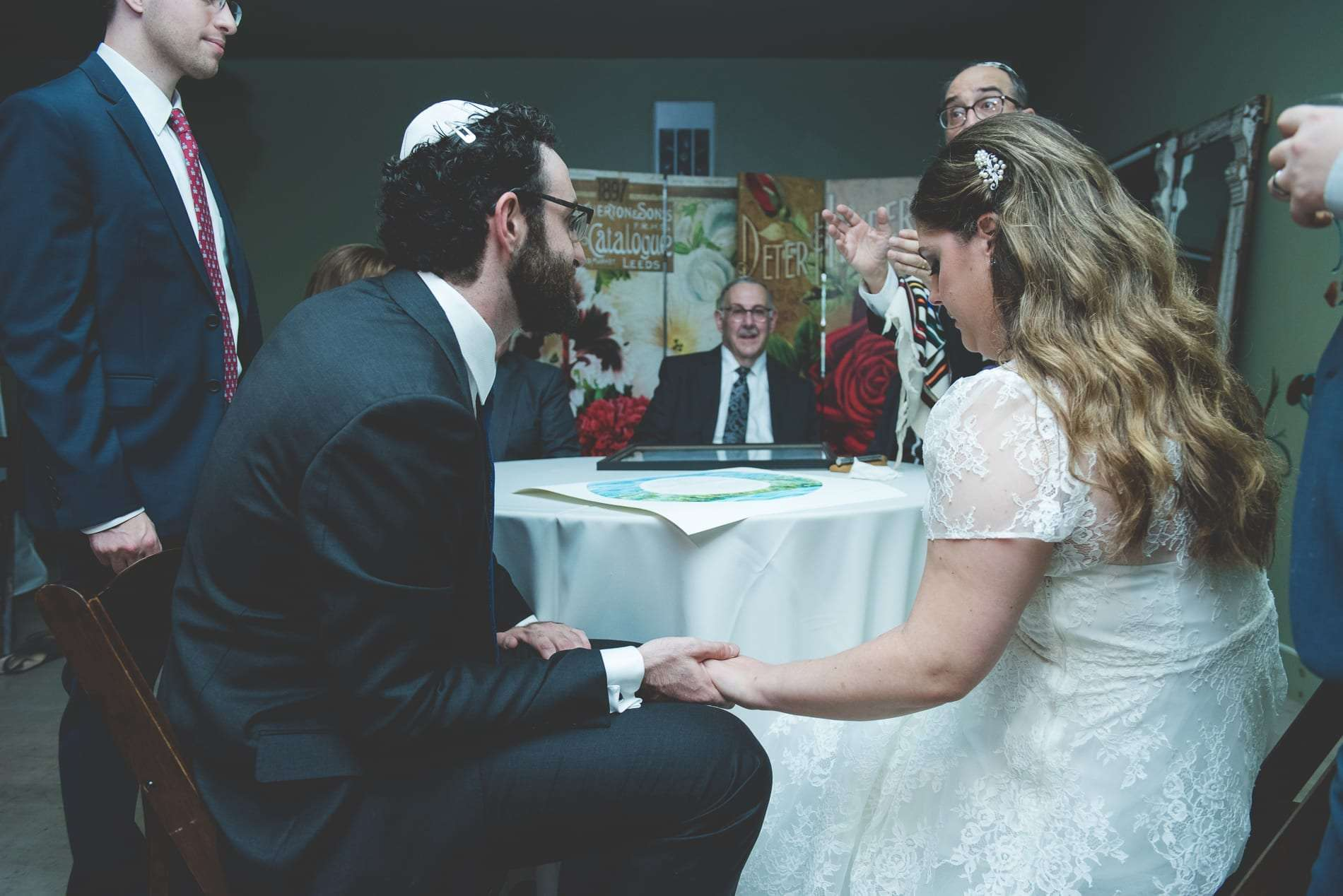 Jewish Wedding at MOYO Schwenksville katuba signing