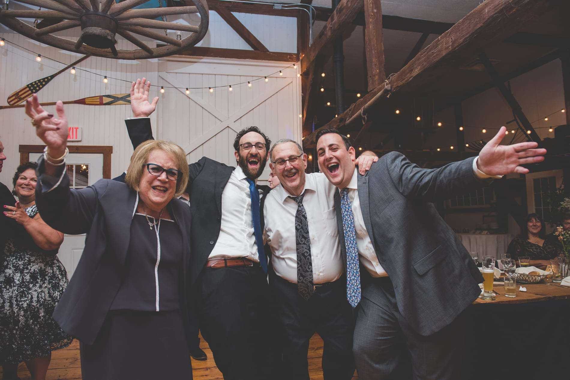 Jewish Wedding at MOYO Schwenksville barn wedding