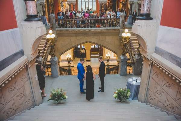 Pennsylvania academy of fine arts wedding photography