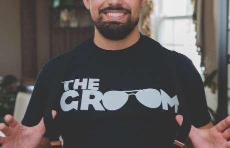 The groom custom shirt
