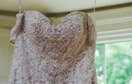 Philly Bride lace wedding dress
