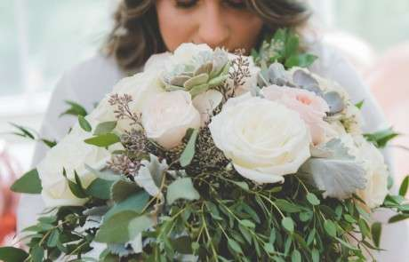 Beautiful Blooms brides bouquet