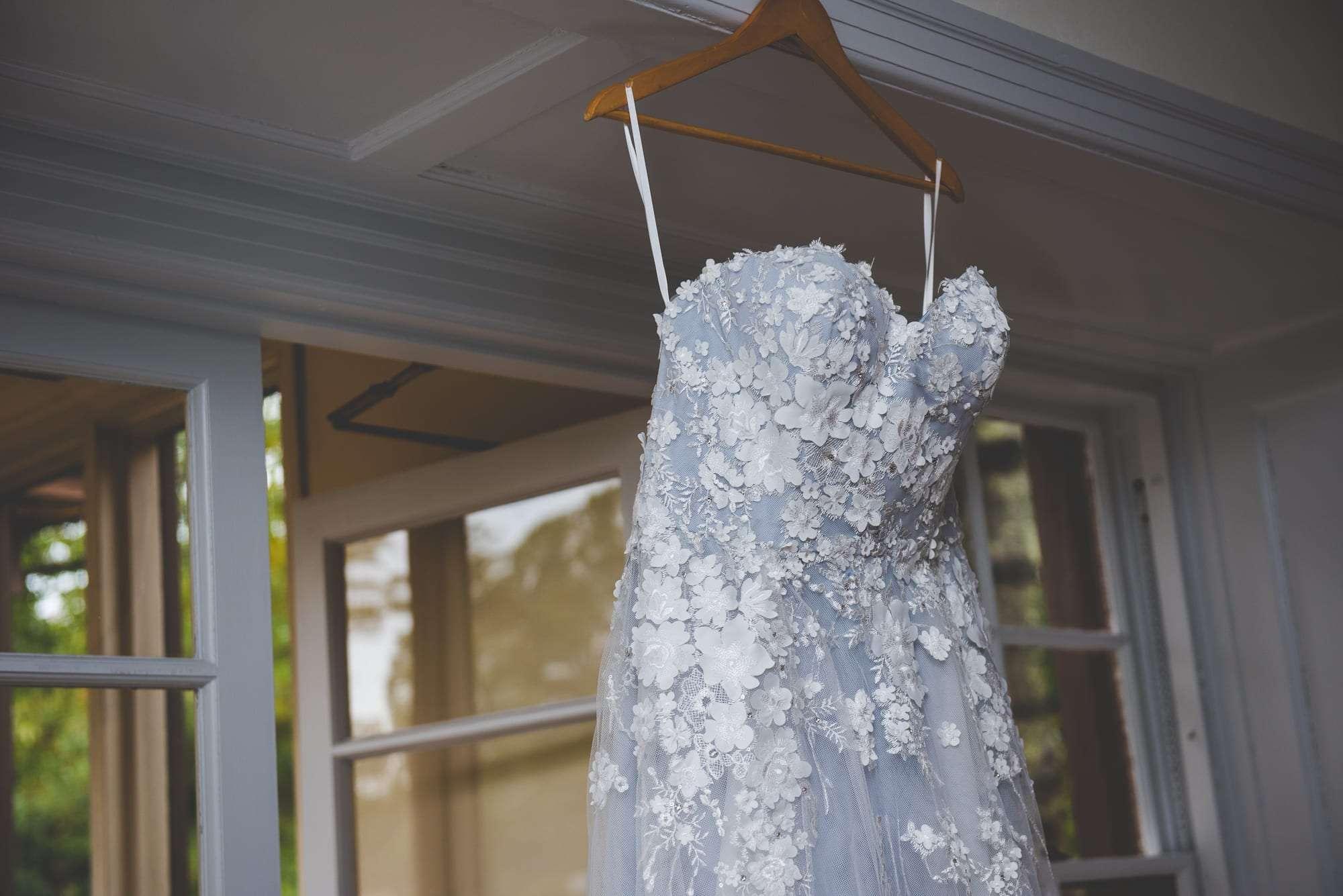 Elizabeth Johns bridal gown blue tones philadelphia wedding gown shops