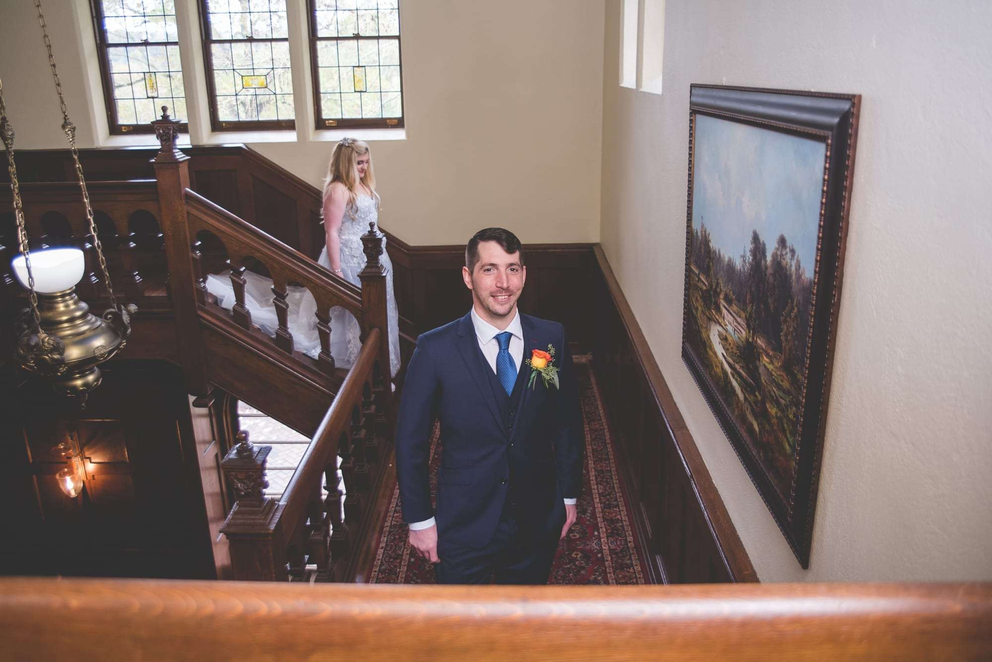 First look at Villanova Inn Philadelphia wedding photographer