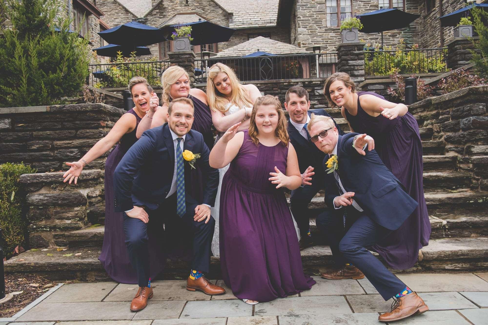 Villanova alumni wedding