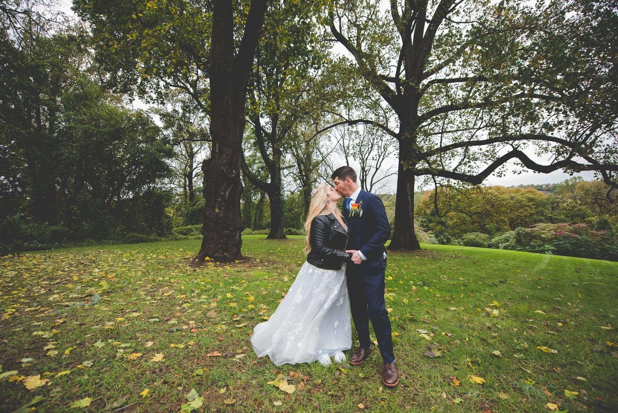 October wedding at Villanova Inn