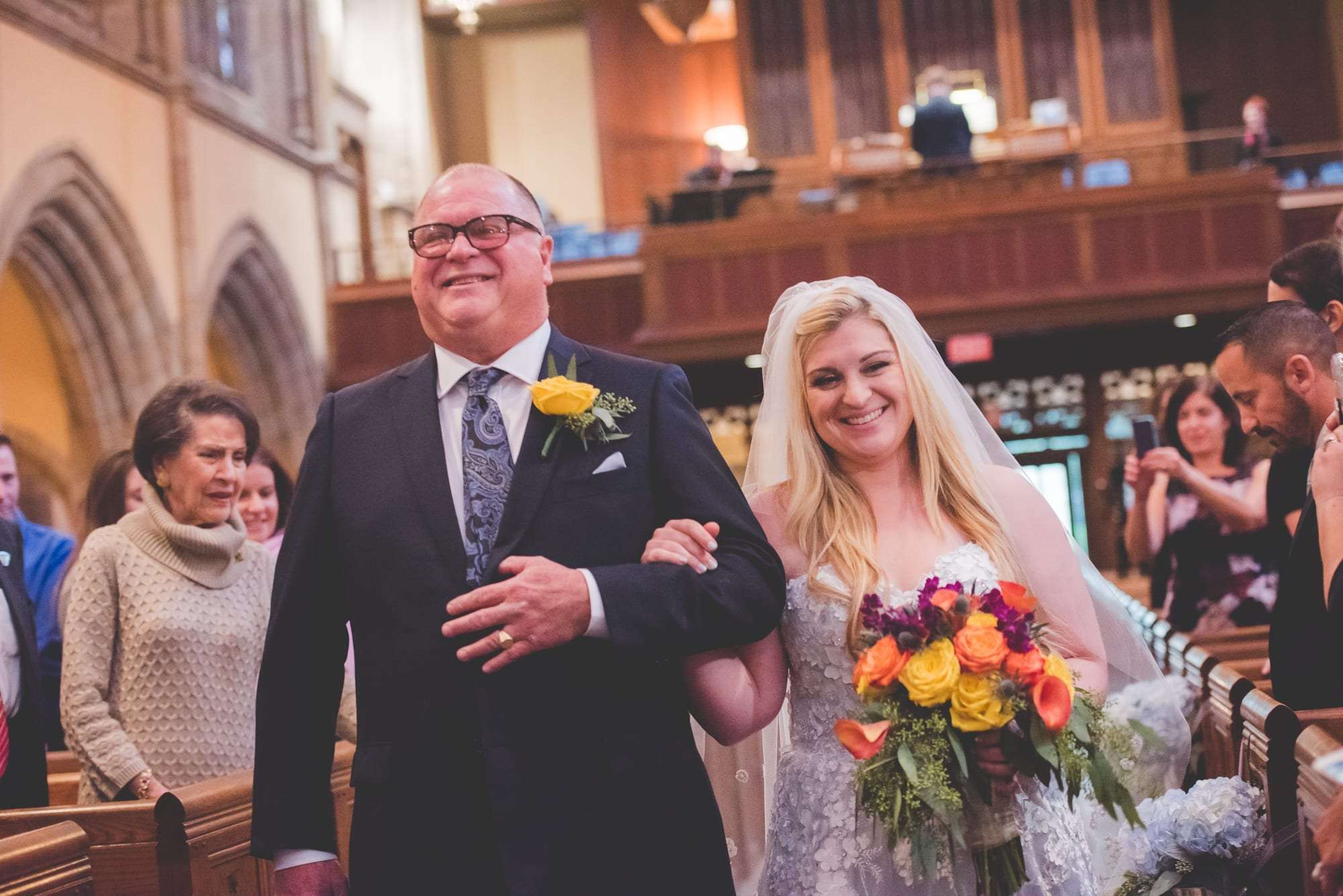 Bryn Mawr Presbyterian wedding