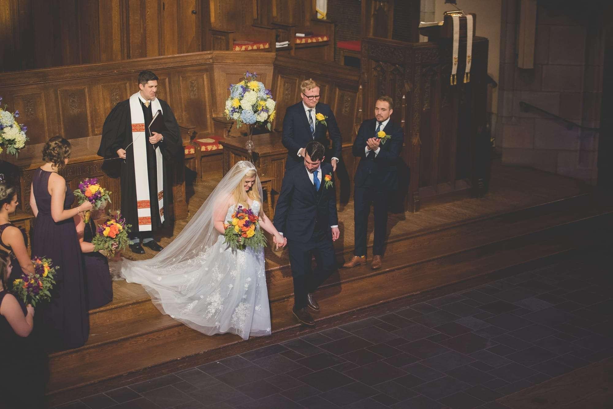 wedding ceremony Bryn Mawr Presbyterian