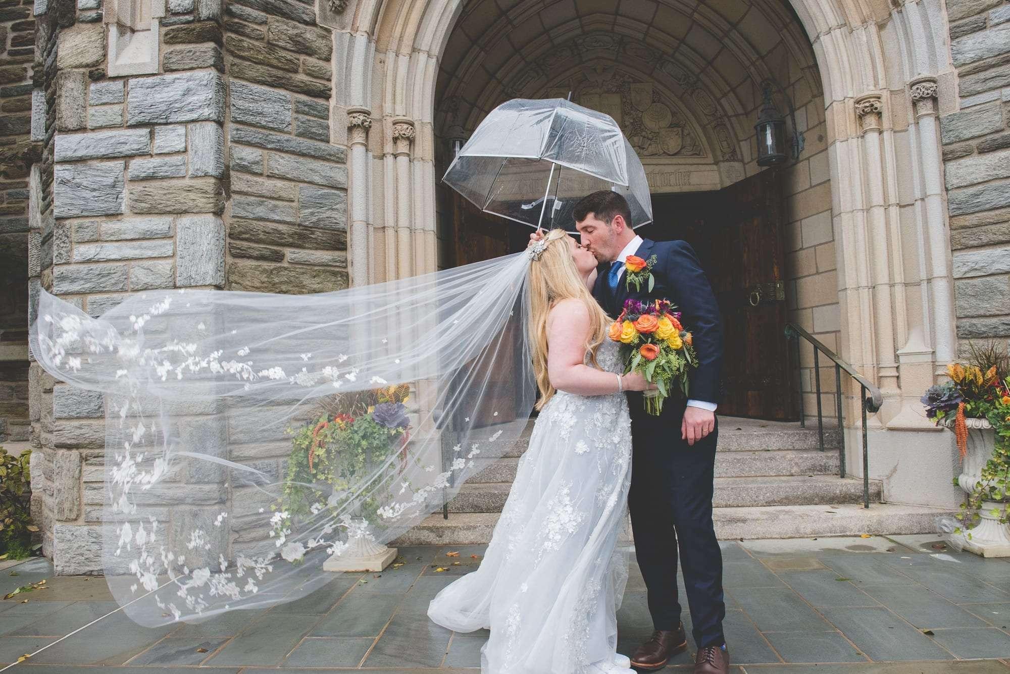 Bryn Mawr Presbyterian wedding portaits