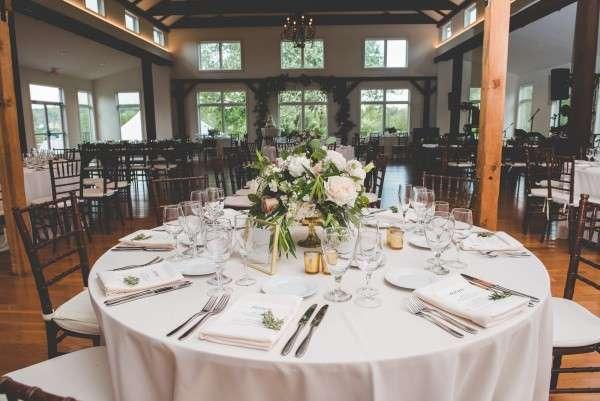 Inn at Barley Sheaf Wedding reception