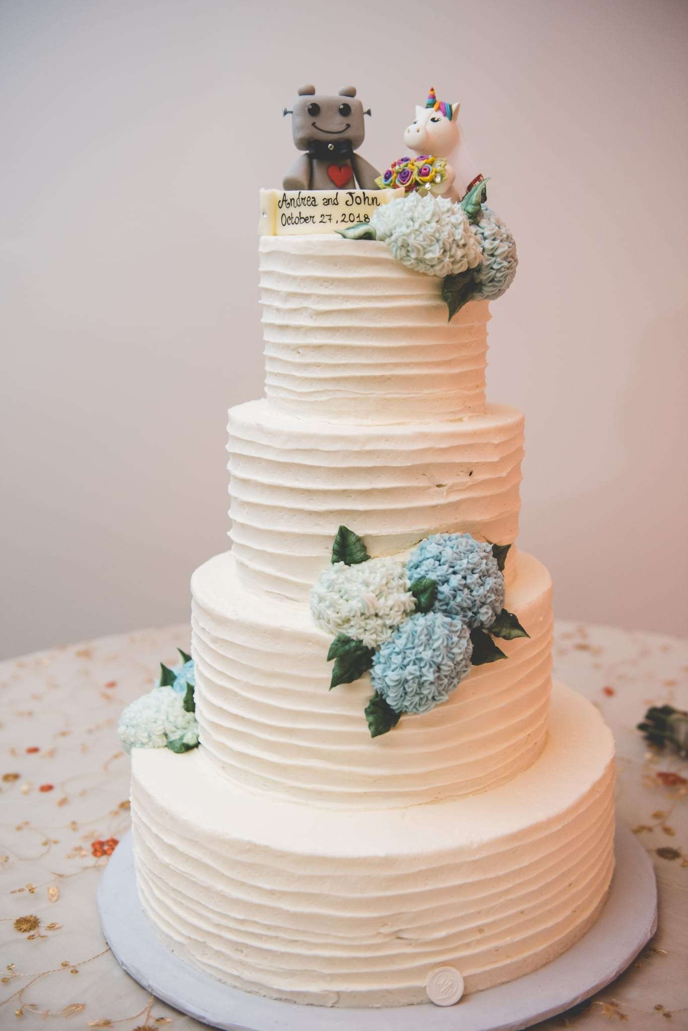 The Masters Baker wedding cakes