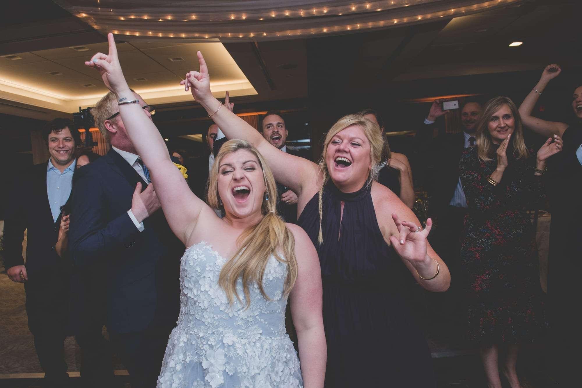 Villanova Inn wedding reception photos