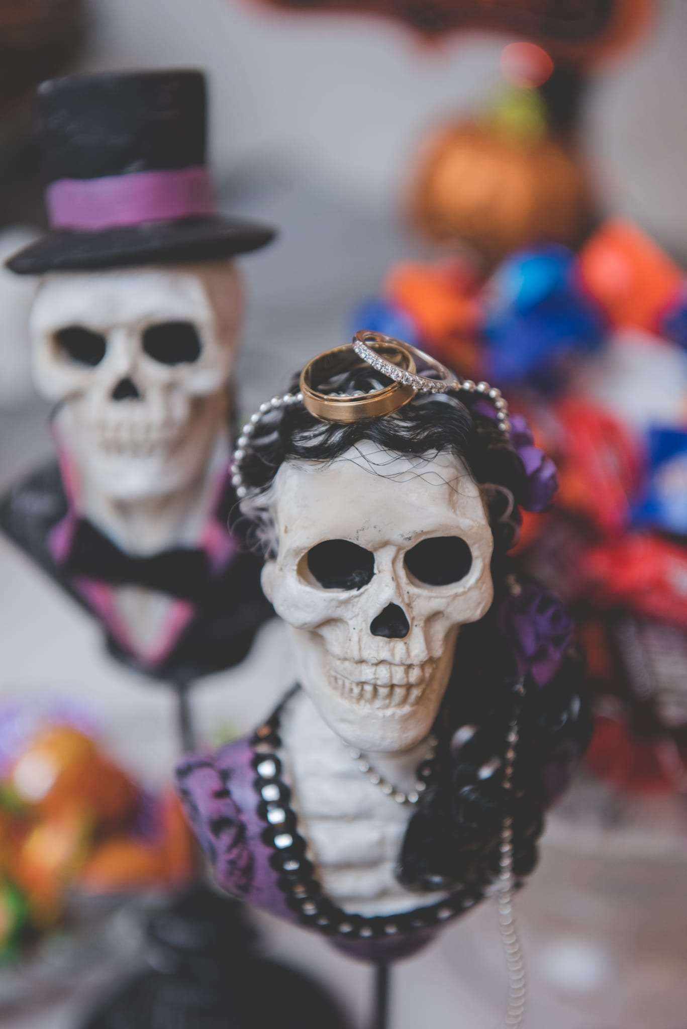Halloween wedding photos Philadelphia photographer