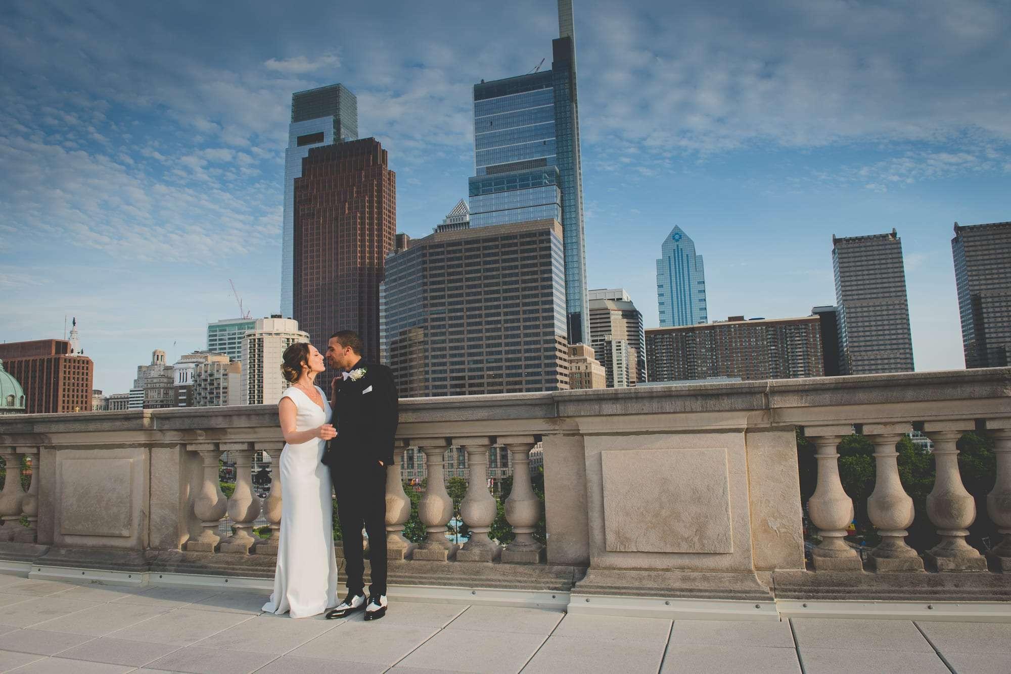 philadelphia free library wedding photography