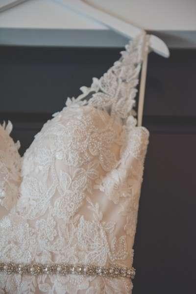 BHLDN wedding dress details philadelphia bride