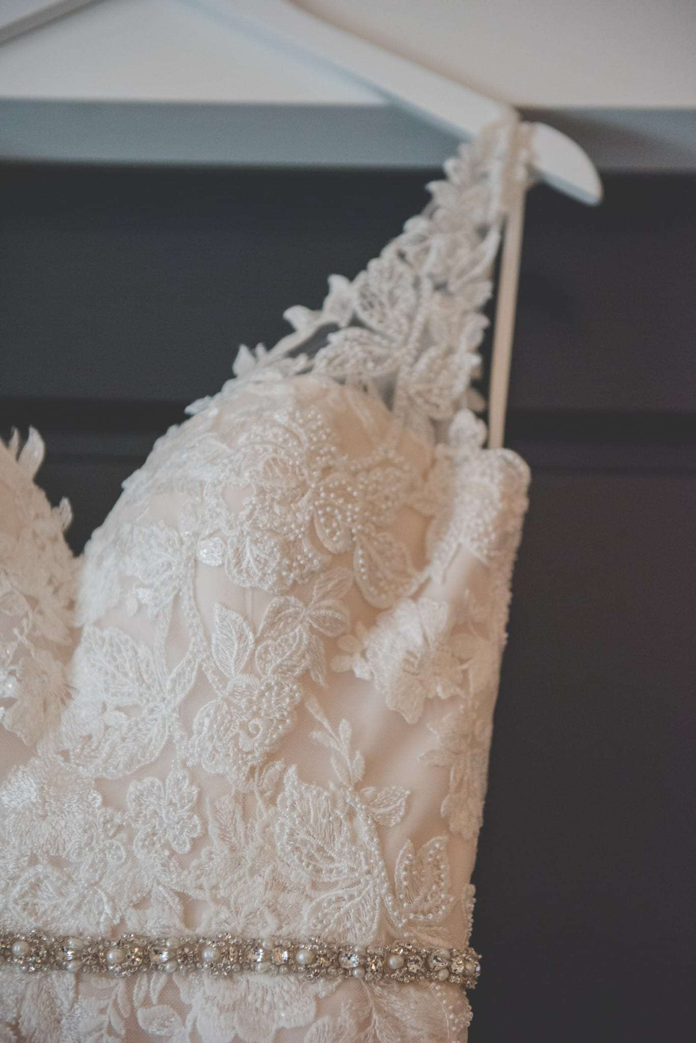 BHLDN wedding dress details philadelphia bride