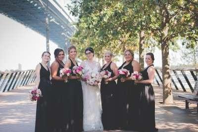 bride portrait at race st pier philadelphia