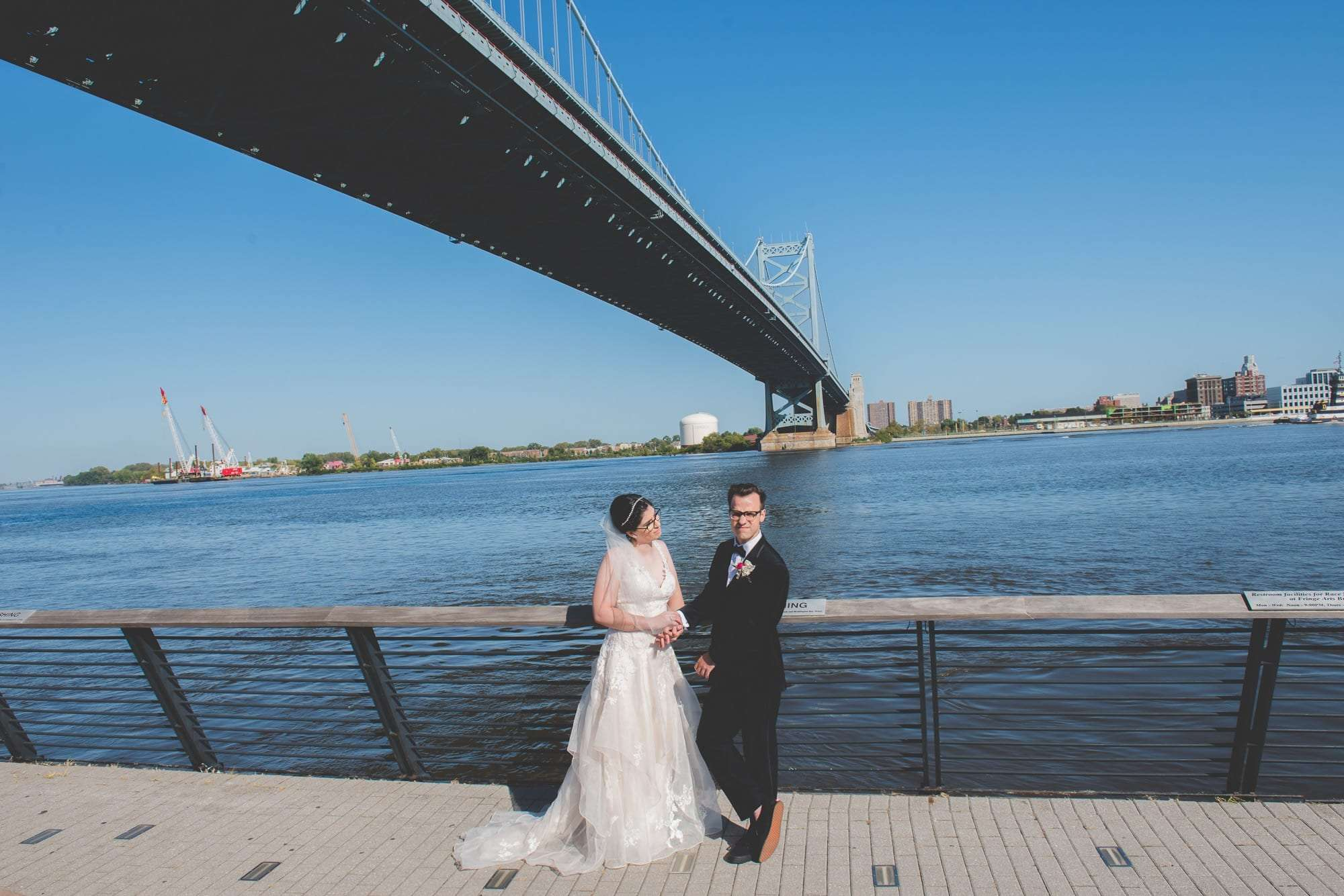 do you need a permit for wedding photos at race street pier philadelphia