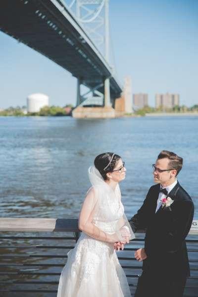 Race st pier wedding photos philadelphia wedding photographer