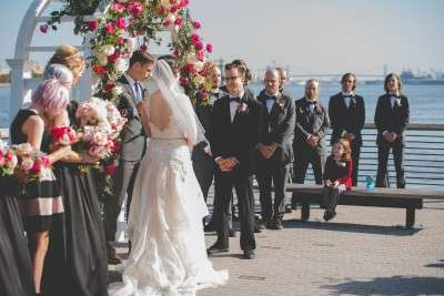 have your wedding at race street pier philadelphia unusual wedding places