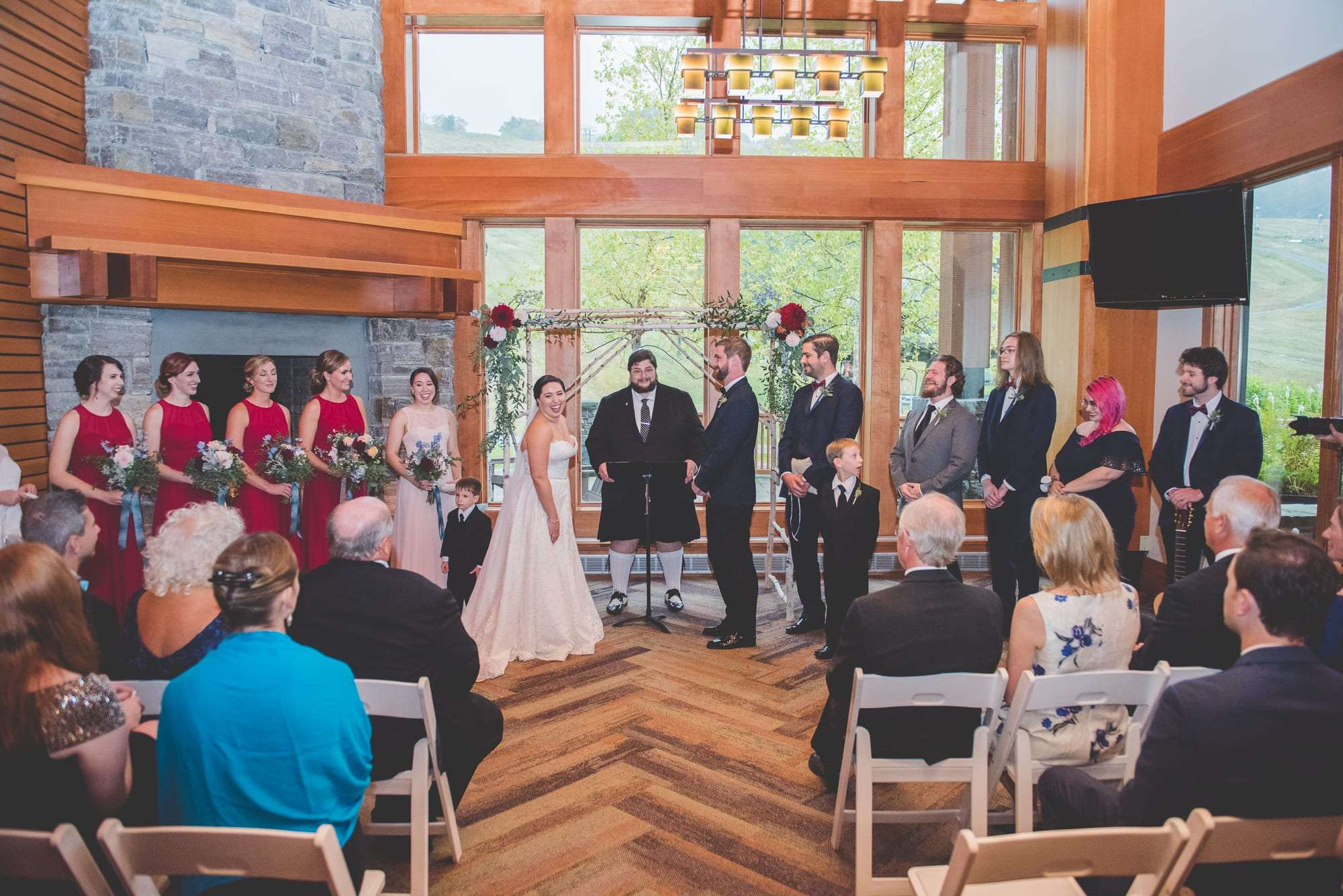 The Lodge at Spruce Peak Wedding photos Beaumonde originals