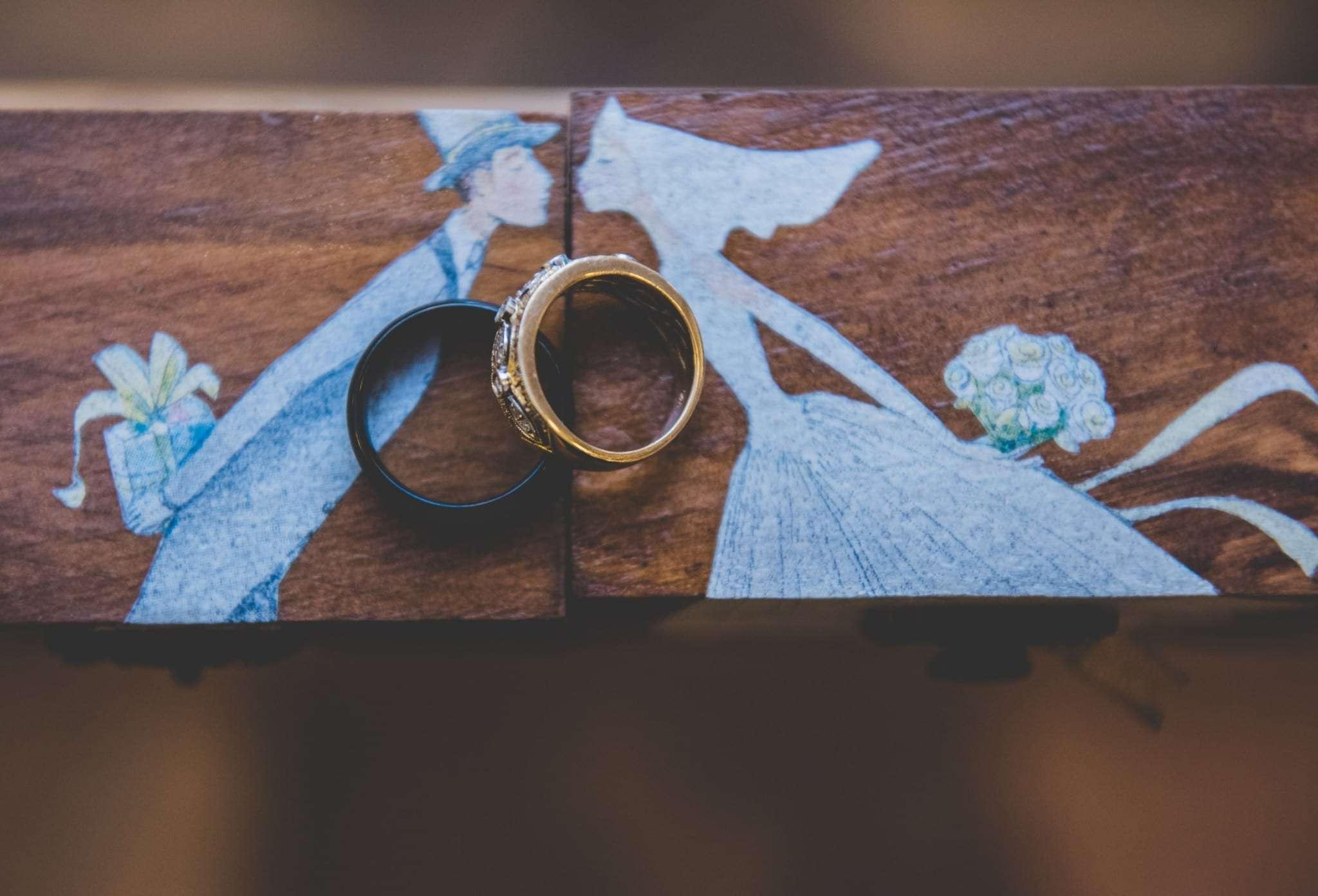 Micro wedding ring photos