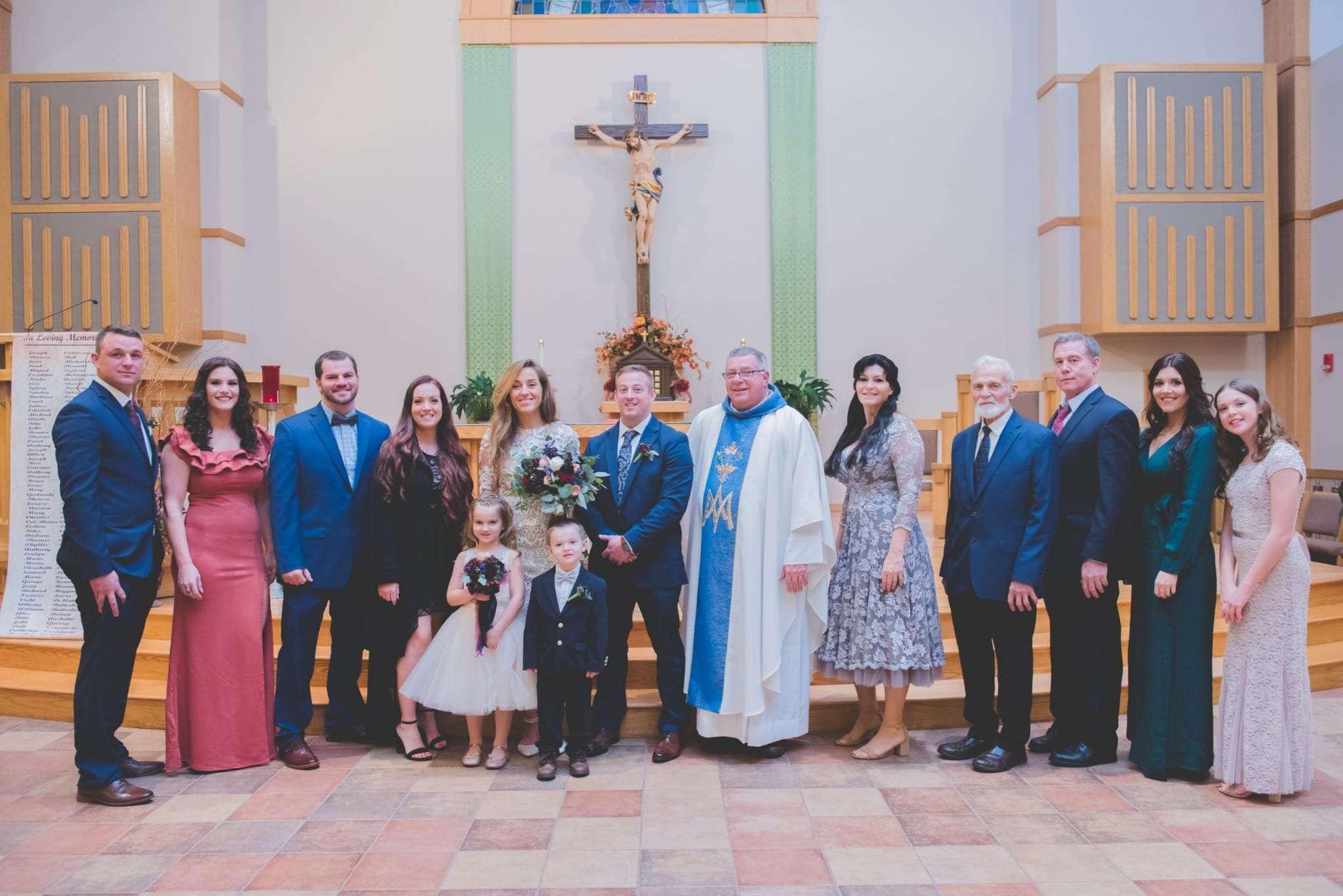 Church wedding elopement micro wedding Philadelphia