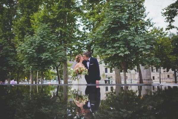 Philadelphia free library wedding photographer