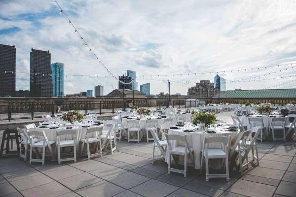 philadelphia rooftop wedding photography