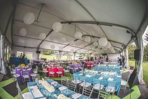 The Mann Center wedding tent Philadelphia wedding photographer
