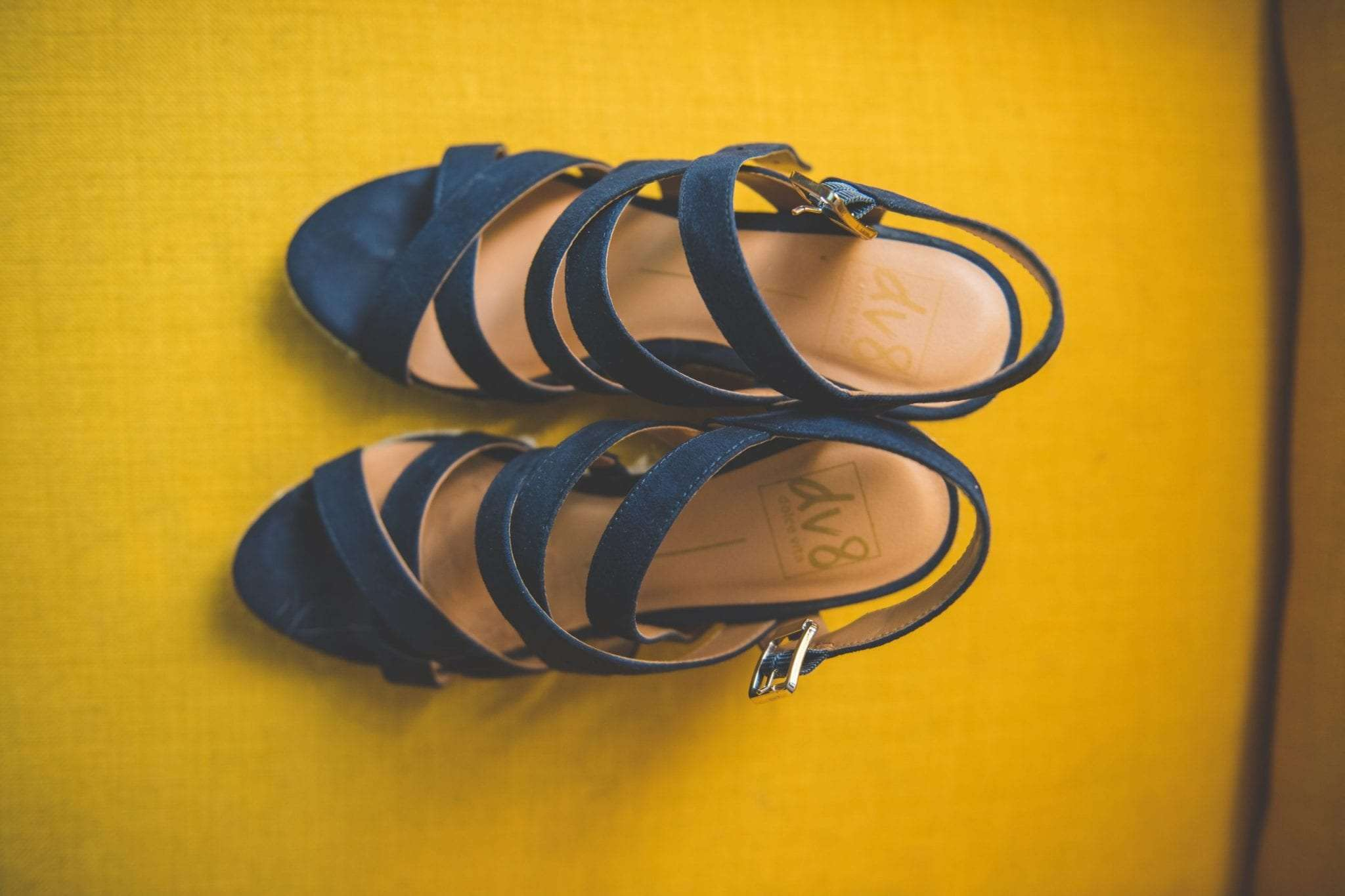 Blue suede shoes wedding shoes detail photography
