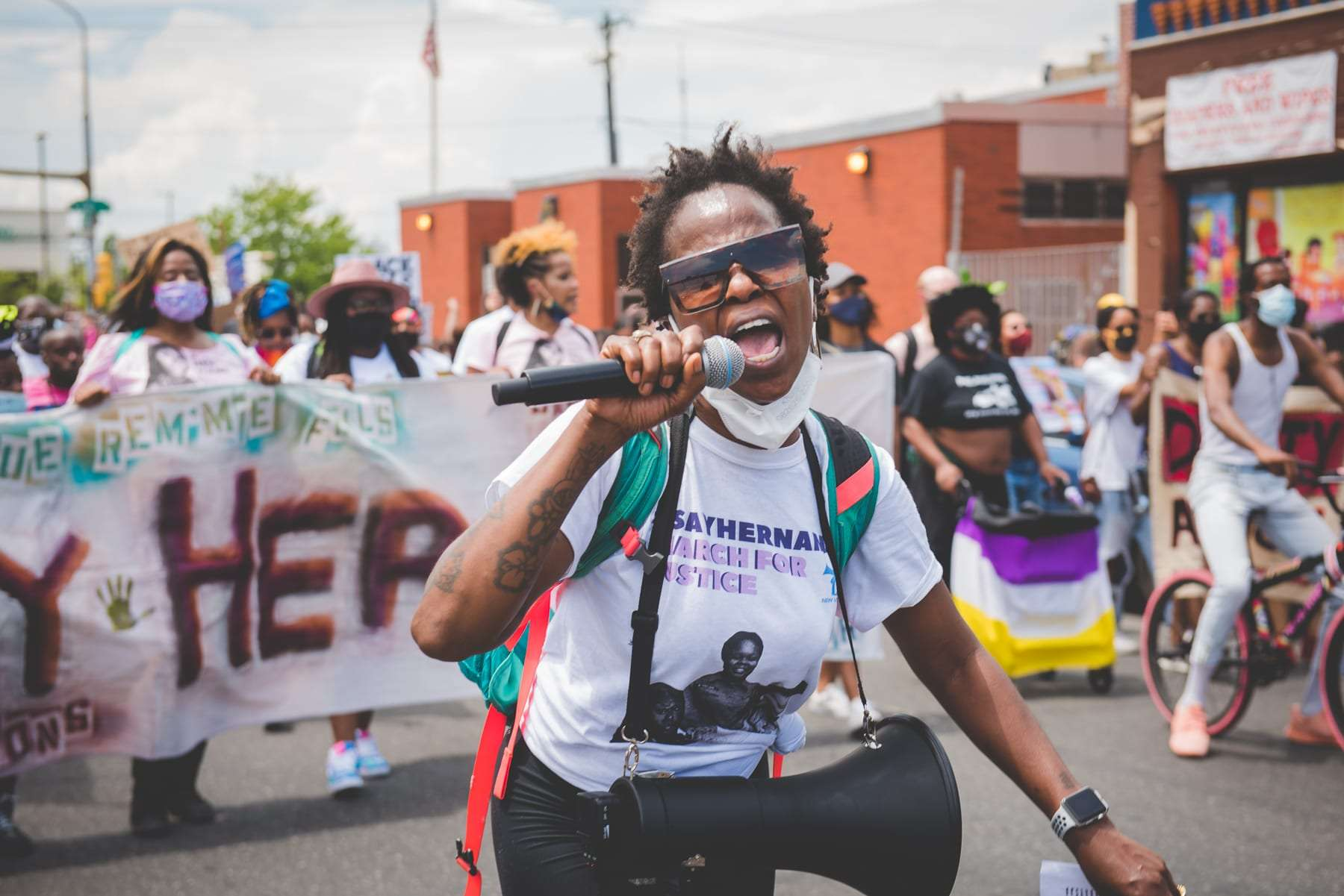 Protest photography say her name Breonna Taylor Philadelphia photography