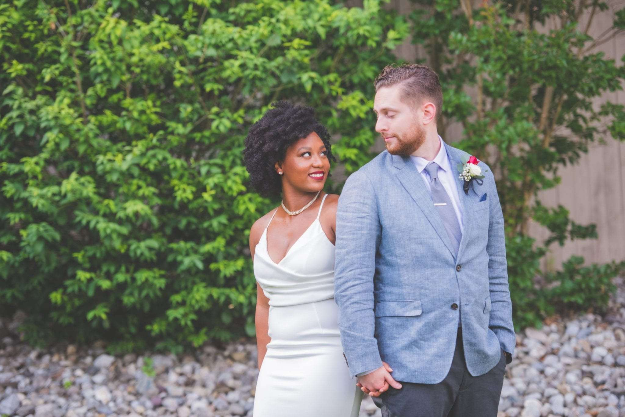 backyard wedding in NJ social distancing