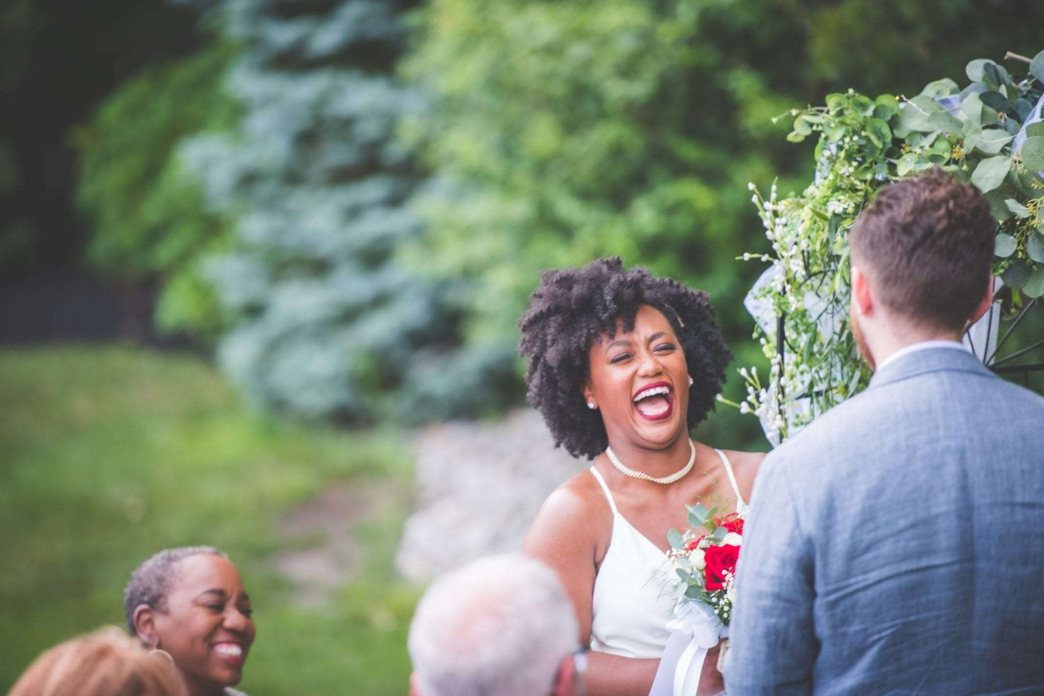 NJ backyard Micro wedding photographer