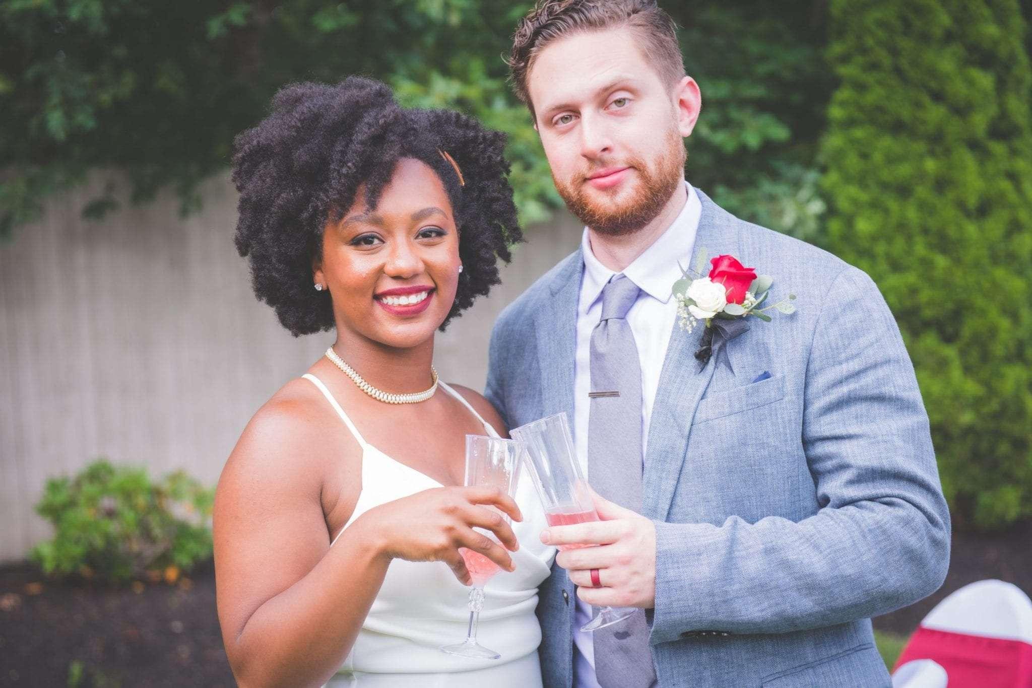 NJ backyard Micro wedding photographer