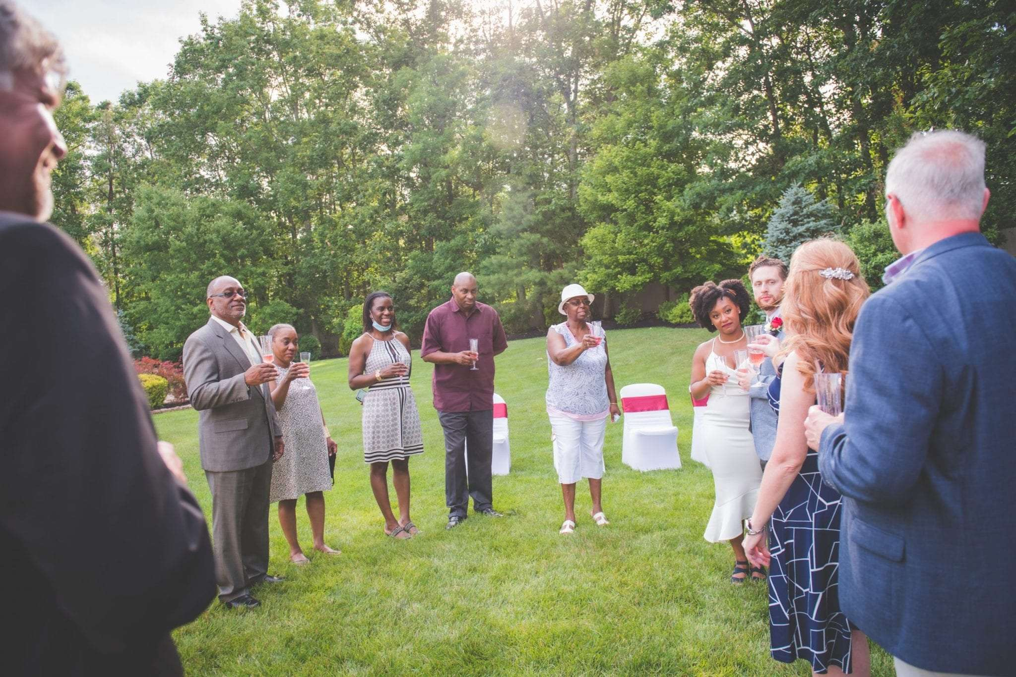 How to have a backyard wedding with social distancing