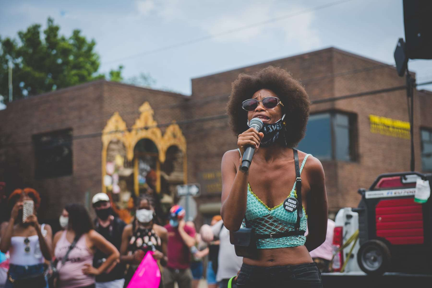 say her name Breonna Taylor protests in Philadelphia photography