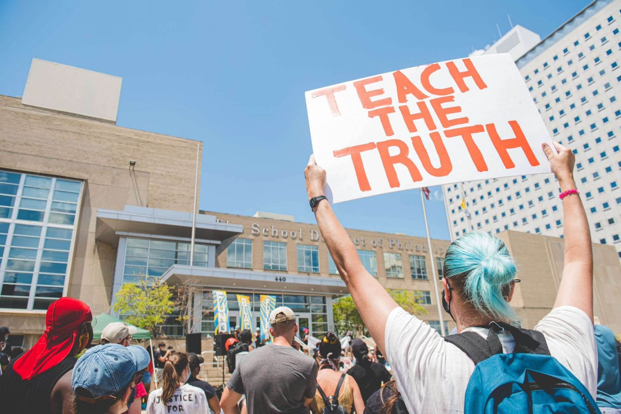 Defund the police in schools fund education protest