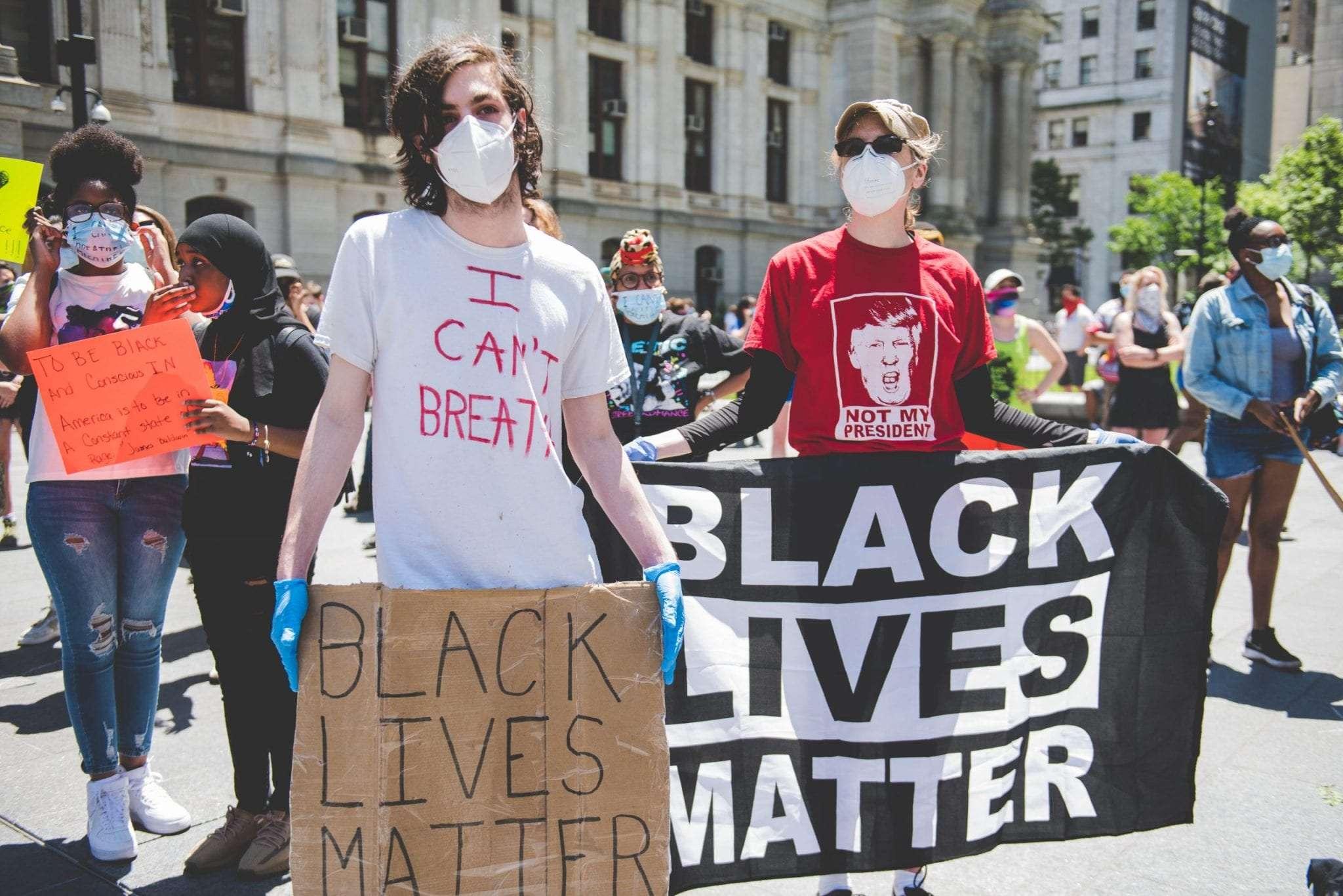 Black Lives Matter Philadelphia protest photography