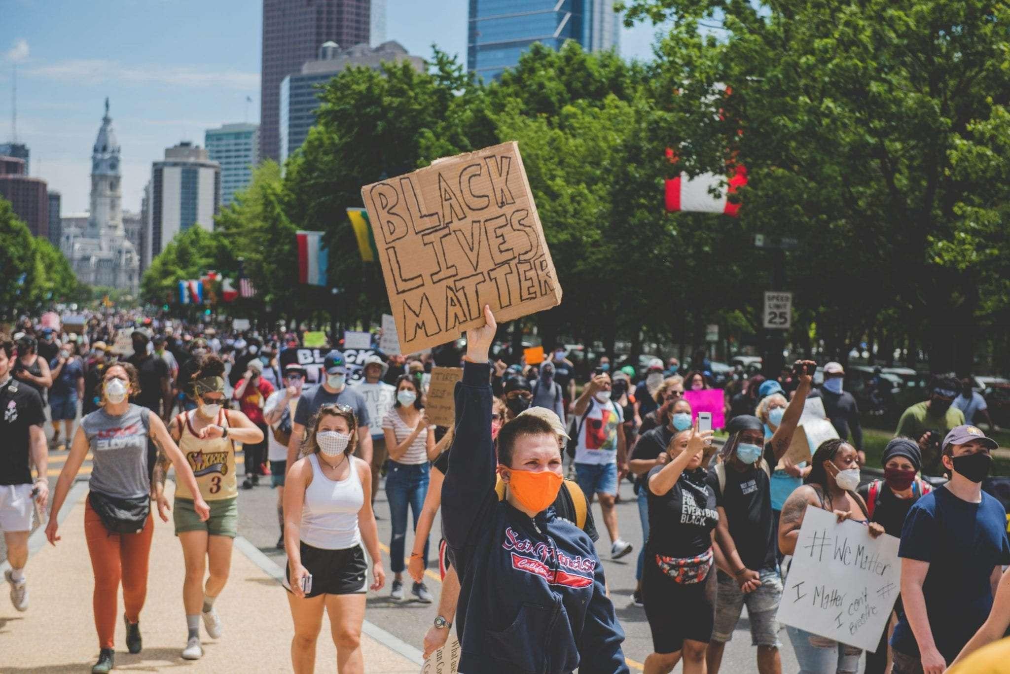 Art Museum BLM protests Philadelphia