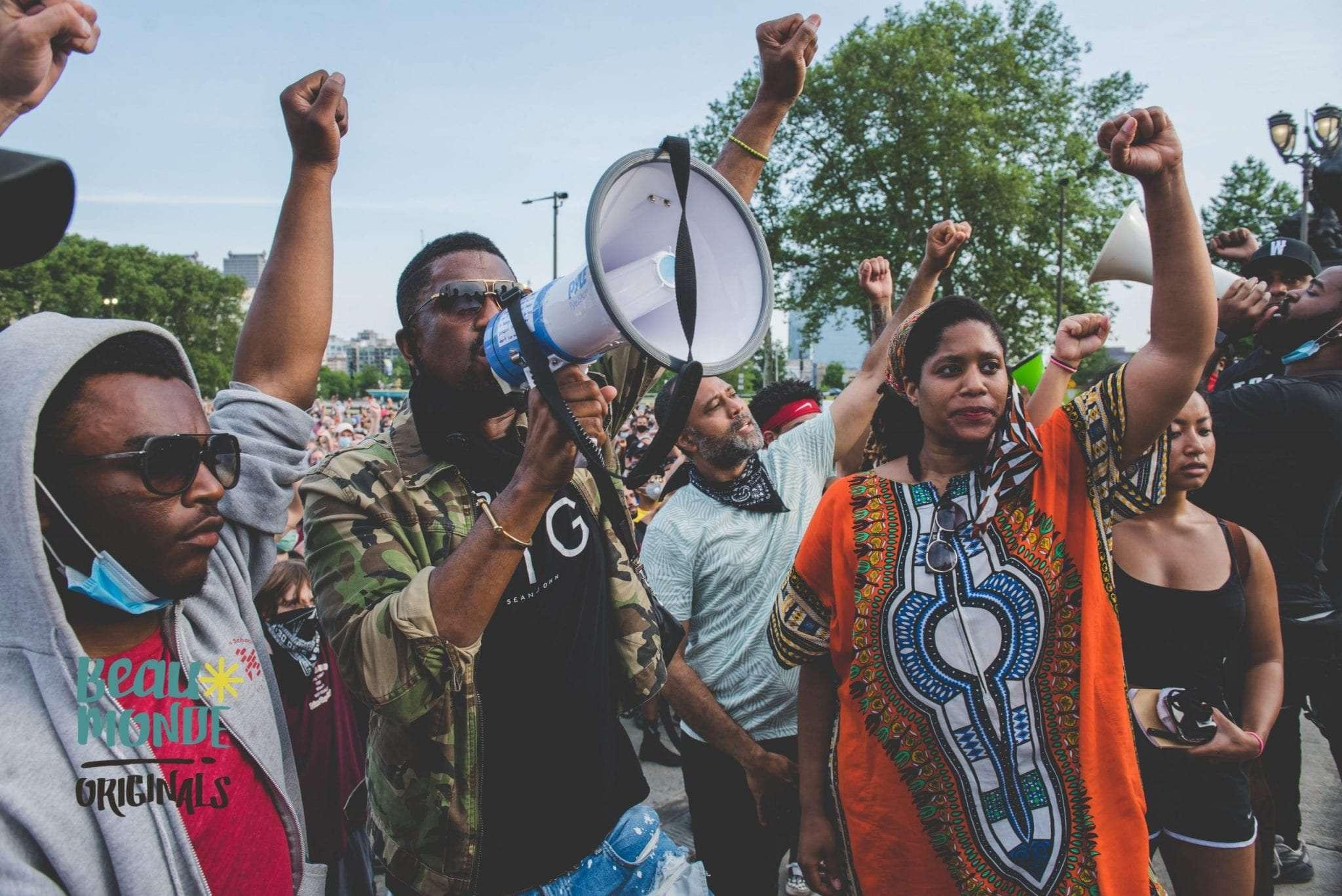 Black Lives Matter protest Philadelphia June 4th 2020
