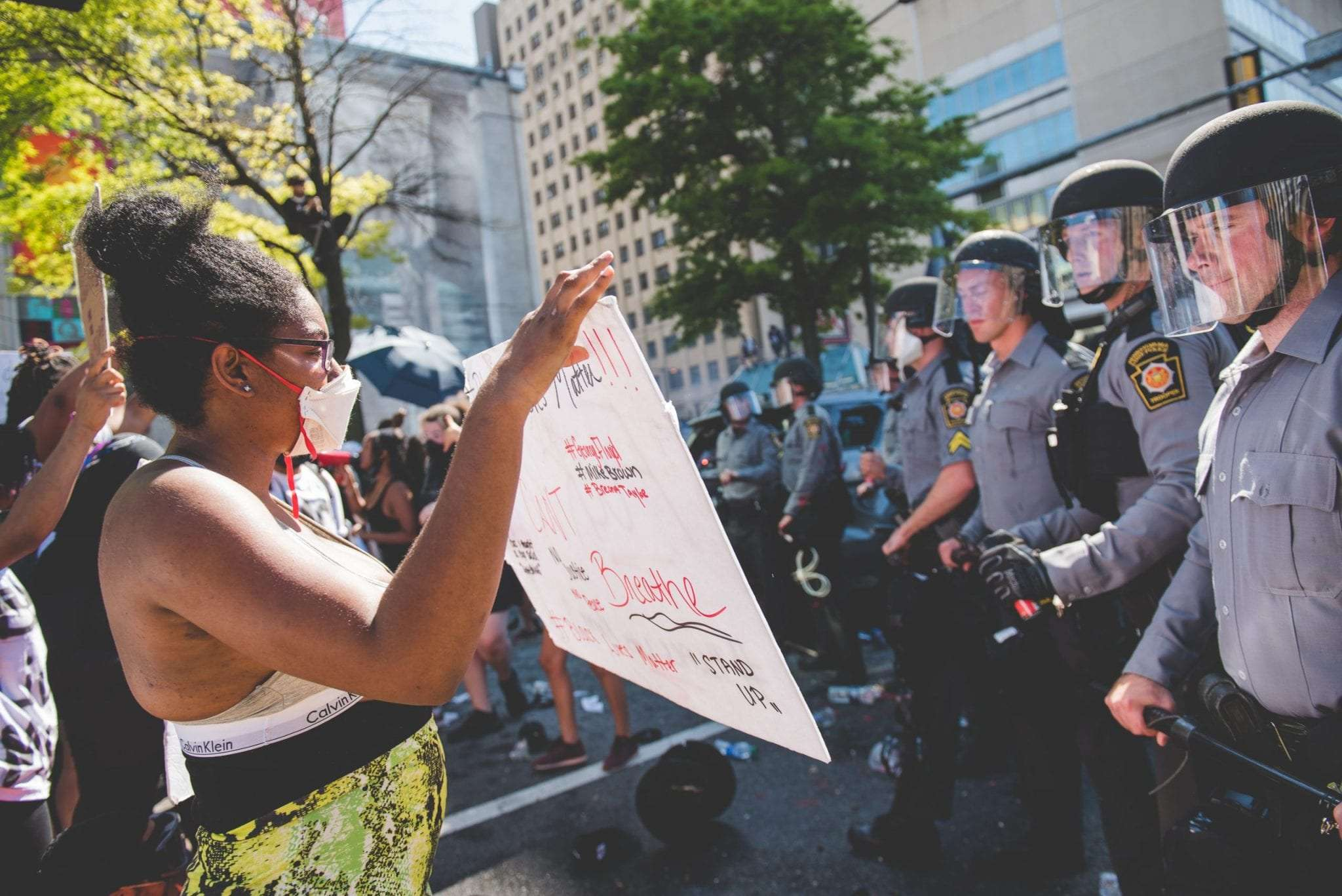 Justice for George Floyd Protest Philadelphia photographer