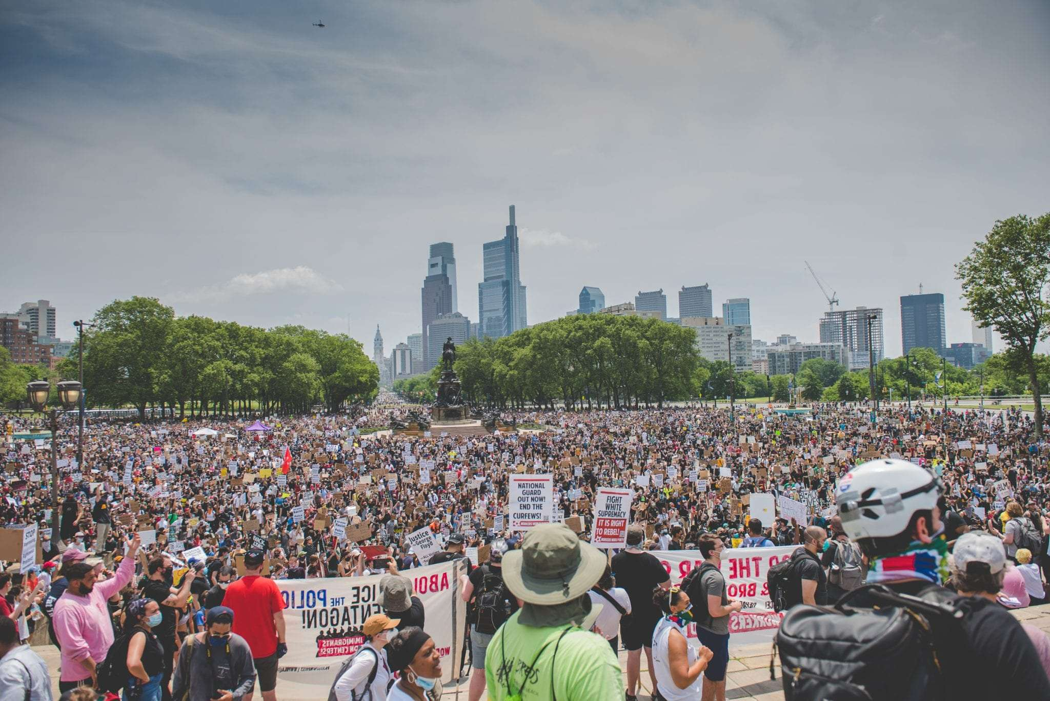 Black Lives Matter in Philadelphia Protest Photography